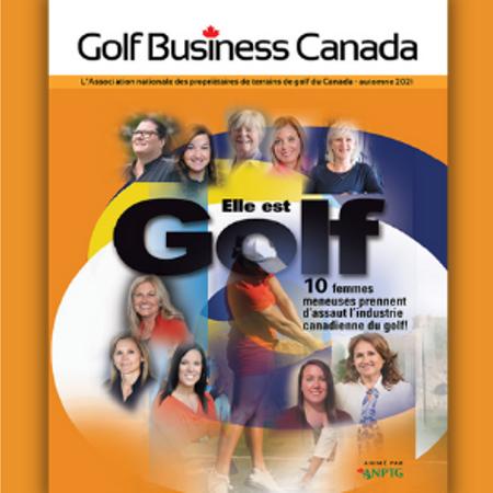 L'édition d'automne de la revue Golf Business Canada est maintenant en ligne