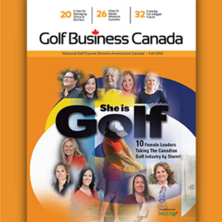 Golf Business Canada Magazine fall issue now online